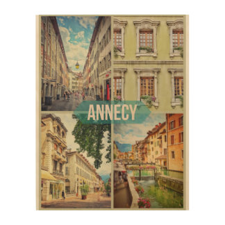 Annecy Wood Wall Art