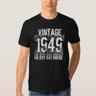 Année de 1949 anniversaires - le meilleur cru 1949 t shirt
