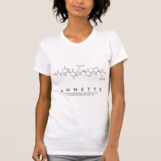 Annette peptide name shirt
