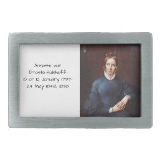 Annette von Droste-Hulshoff 1838 Belt Buckle