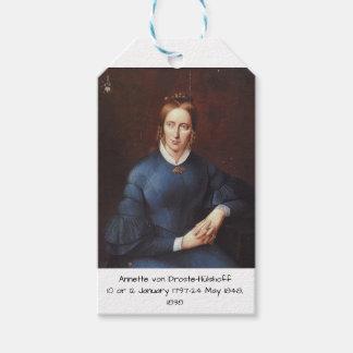 Annette von Droste-Hulshoff 1838 Gift Tags