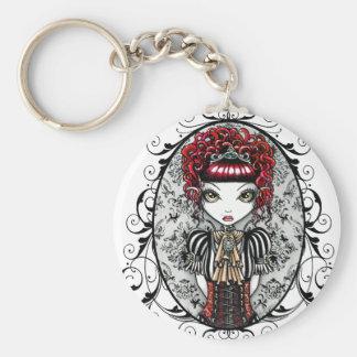 """""""Annie"""" Gothic Victorian Couture Fairy Keychain"""