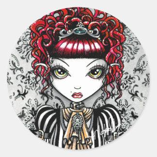 Annie Gothic Victorian Fae Sticker