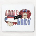 Annie Loves Andy Ragdoll Mousepad