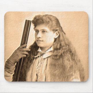 Annie Oakley Portrait Mouse Pad