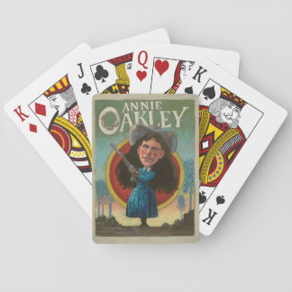 Annie Oakley Vintage Playing Cards
