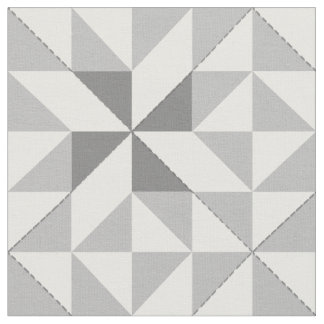 Annie's Choice Patchwork Design in Grey Fabric