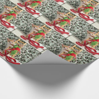 Annie's Elf Christmas Wrapping Paper
