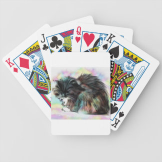 Annies head hangs low bicycle playing cards