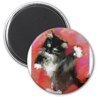 Annies love of life 2 inch round magnet