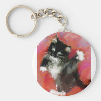 Annies love of life basic round button keychain