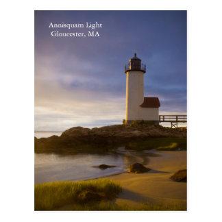Annisquam Light Gloucester, MA Postcard