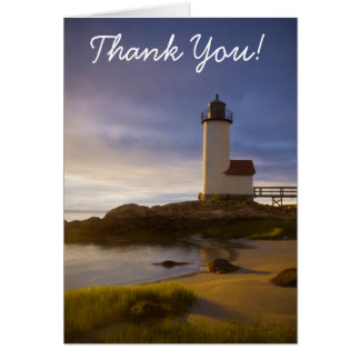 Annisquam Light, Thank You! Card