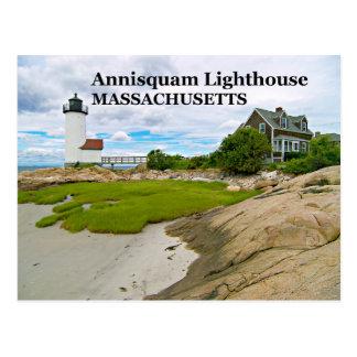 Annisquam Lighthouse, Massachusetts Postcard