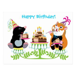 anniversaire cartes postales
