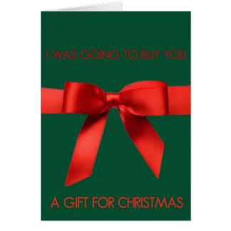 Anniversaire de Jésus pas vôtre carte de Noël