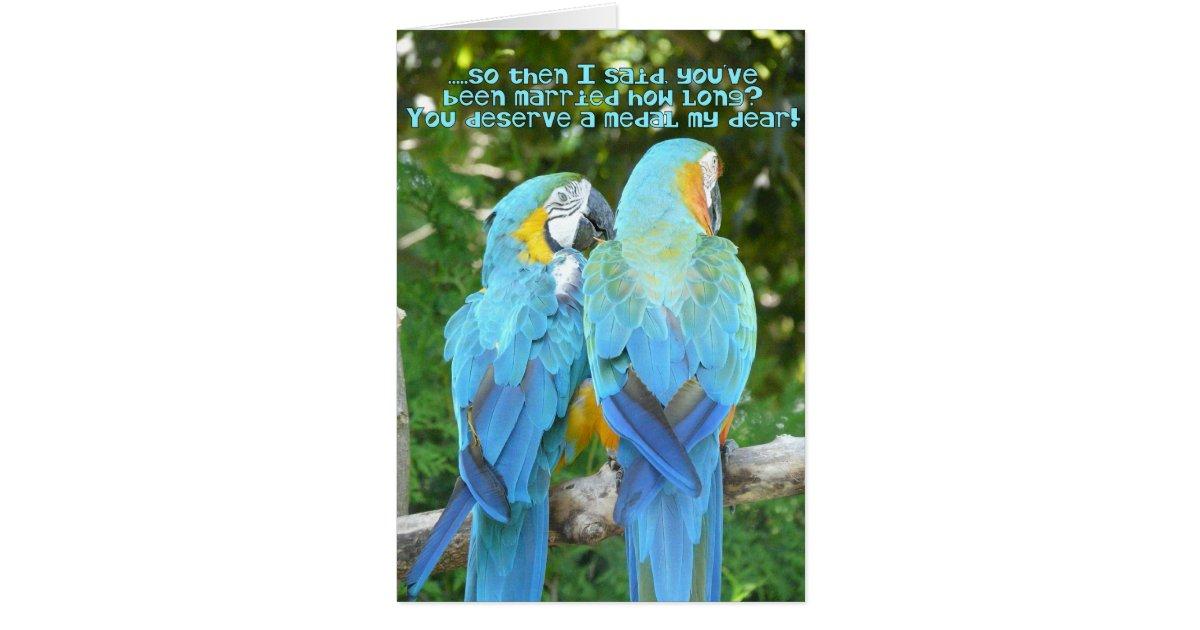 Anniversaire de mariage dr le humour bleu de carte de for Carte de voeux humour