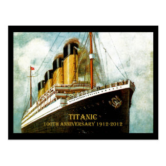 Anniversaire de RMS Titanic 100th Cartes Postales