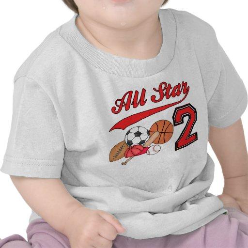 Anniversaire de sports d'All Star 2ème T-shirt