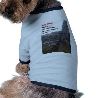 Anniversaire spécial t-shirt pour animal domestique