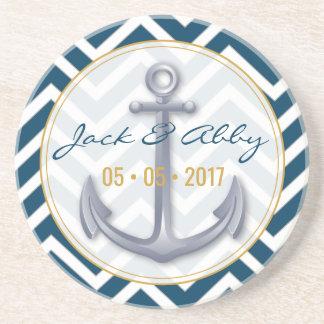Anniversary Anchor Coaster
