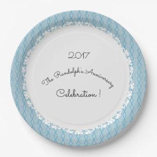 Anniversary-Celebration_Template(c)Softest Blue II Paper Plate