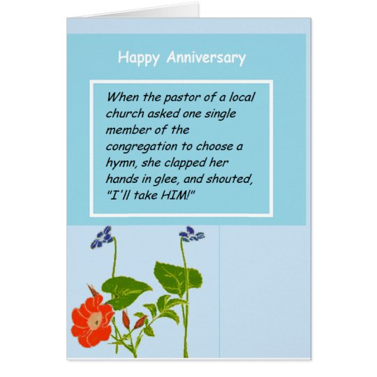 Anniversary  Devotional Greeting Card