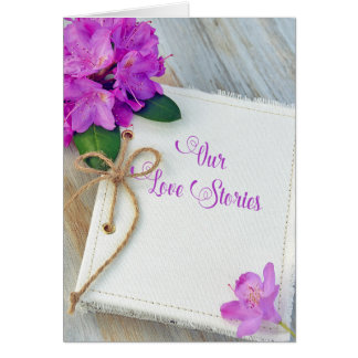anniversary for couple love journal card