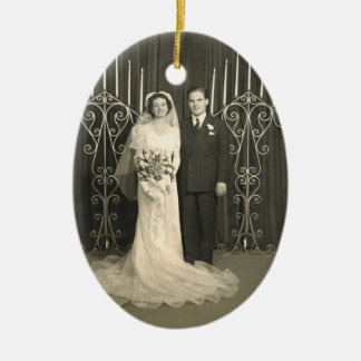 Anniversary Gift Photo Ornament Personal Message