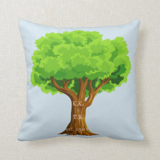 Anniversary Lover's Tree Pillow