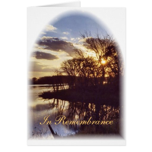 Anniversary of a Death/Window of Don's Slough Greeting Cards