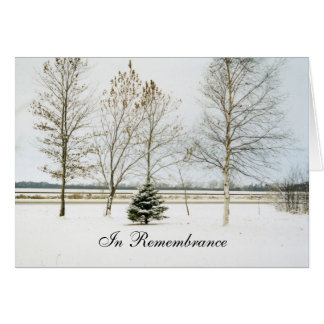 Anniversary of a Death Winter Series1 Greeting Card
