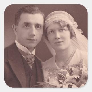 Anniversary Sticker Old Wedding Photo Stickers