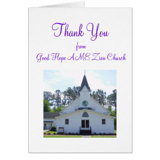 Anniversary Thank You Card