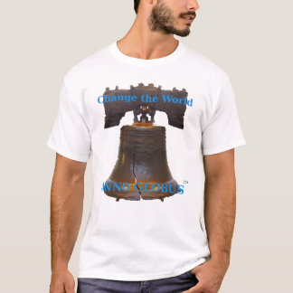 Anno Globus - Liberty Bell w/blue lettering T-Shirt