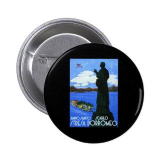 Anno Santo Stresa Borromeo 2 Inch Round Button