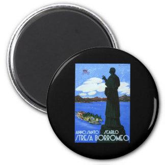 Anno Santo Stresa Borromeo 2 Inch Round Magnet