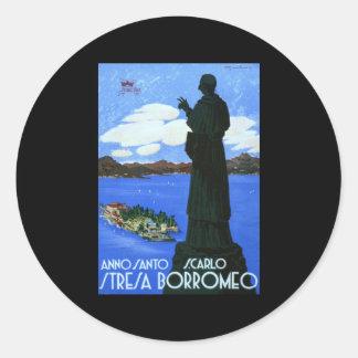 Anno Santo Stresa Borromeo Classic Round Sticker