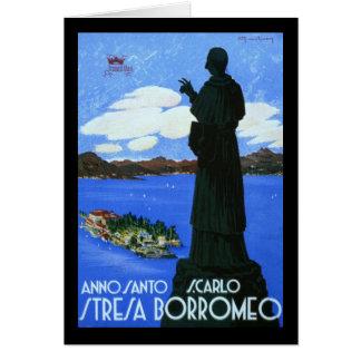 Anno Santo Stresa Borromeo Greeting Card