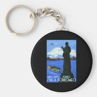 Anno Santo Stresa Borromeo Basic Round Button Keychain