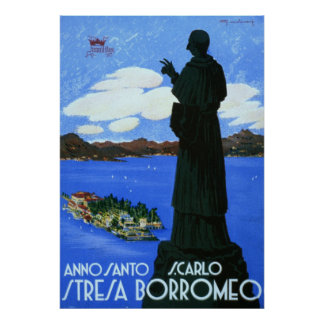 Anno Santo Stresa Borromeo Poster