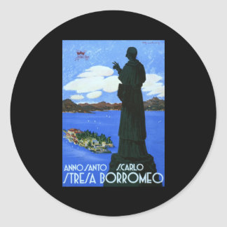 Anno Santo Stresa Borromeo Round Sticker