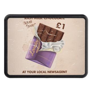 Annonce britannique vintage de chocolat couverture remorque d'attelage