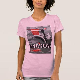 Annonce d'automobile d'art déco de Delahaye T-shirt