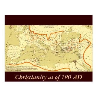 ANNONCE du christianisme 180 Carte Postale