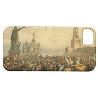 Announcement of Coronation Day by Vasily Timm 1856 iPhone 5 Cases
