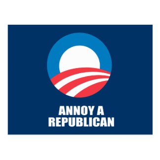ANNOY A REPUBLICAN POST CARDS