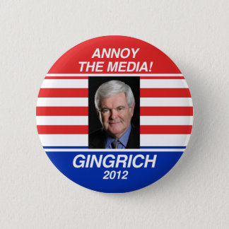 Annoy the Media 2 Inch Round Button