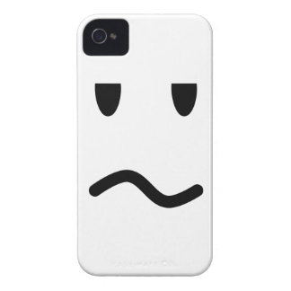 Annoyed Face iPhone 4 Case-Mate Case