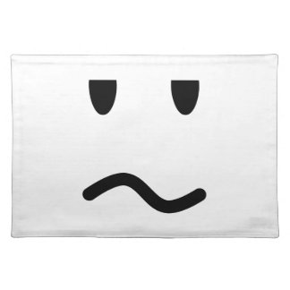 Annoyed Face Placemat